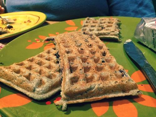 Blueberry Waffles (September 5 2015)