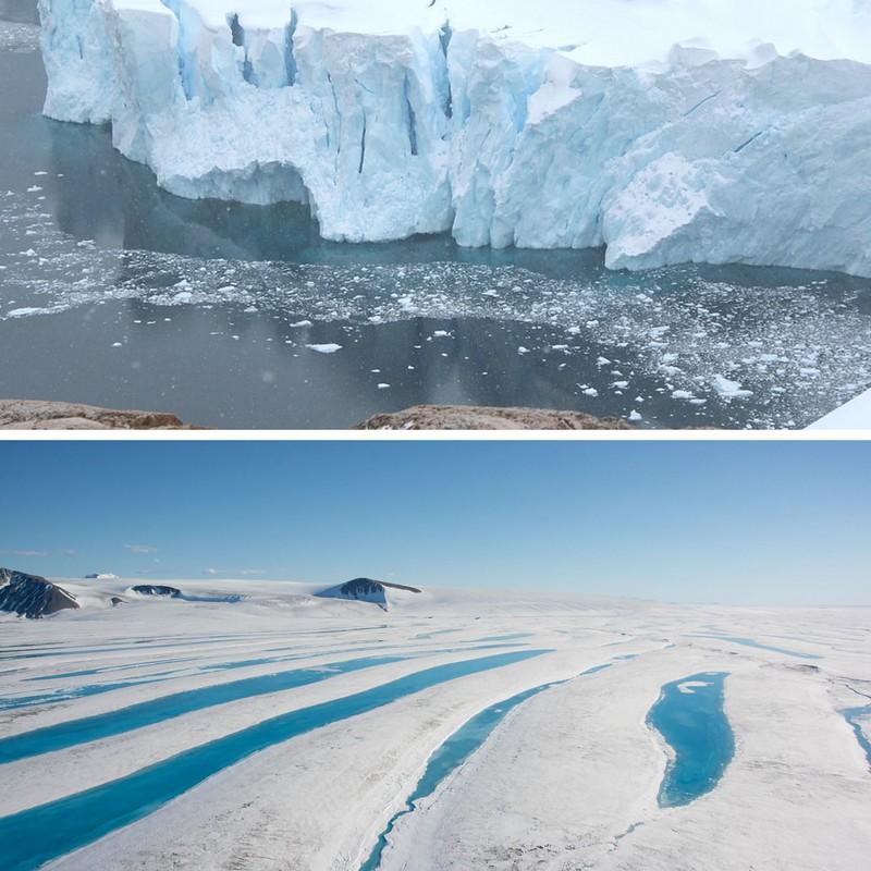 Jäisiä kokemuksia Etelämantereelta ja Kanadan pohjoisrannikolta