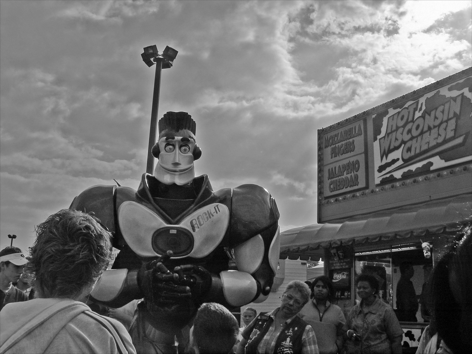 Rock-it Robot, GA National Fair, 2006