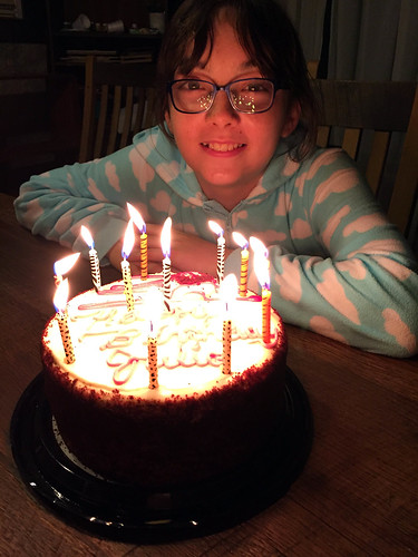 Happy 12th Birthday, Julia!