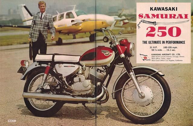 Kawasaki Samurai 250