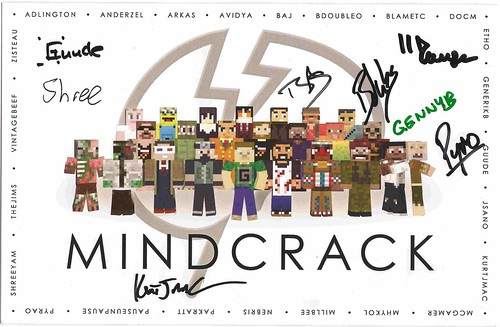 Mindcrack Signatures | by PatrickJamesB