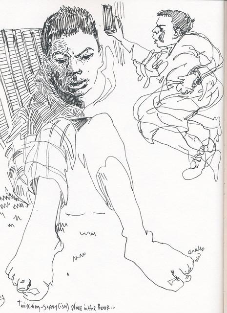 Sketchbook #98: Reading Time