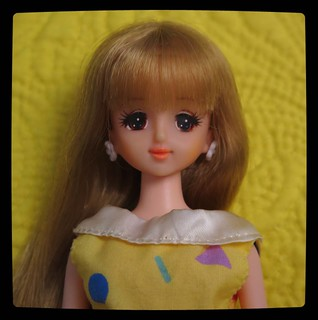 1st of August is an official birthday of #Jenny #doll by #Takara, sadly never sold outside of Japan. This year Jenny celebrates 30th anniversary, to commemorate an occasion - portrait of probably the oldest Jenny from my #collection in vintage outfit, for