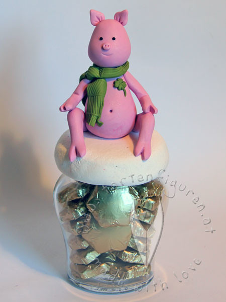 ~ New Year lucky charms - edible, polyclay & other ...