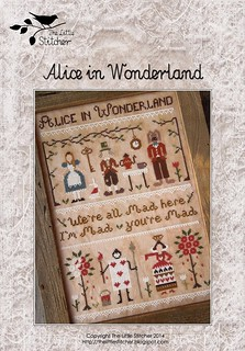 Alice in Wonderland by The Little Stitcher