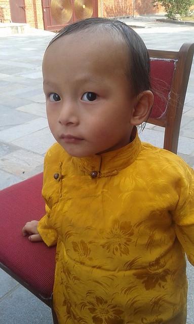 Trulshik Rinpoche's yangsi at Sitapaila, April 2016. Photo by Ani Jinba (2)