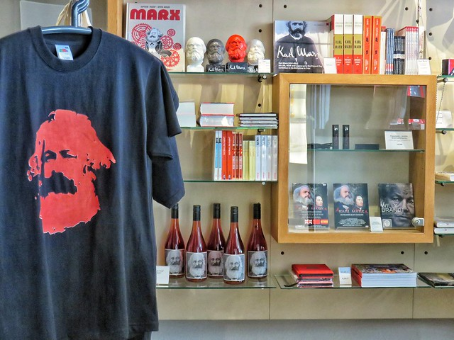 Karl Marx Haus, giftshop - Trier, Germany