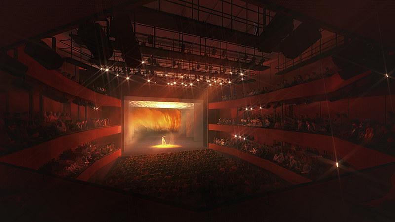 Центр исполнительских искусств в Нью-Йорке от REX