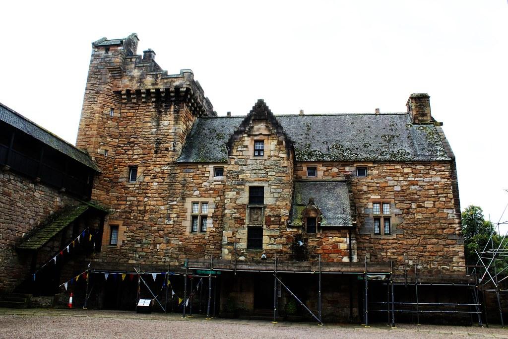 DEan Castle Palace, Kilmarnock, Scotland.