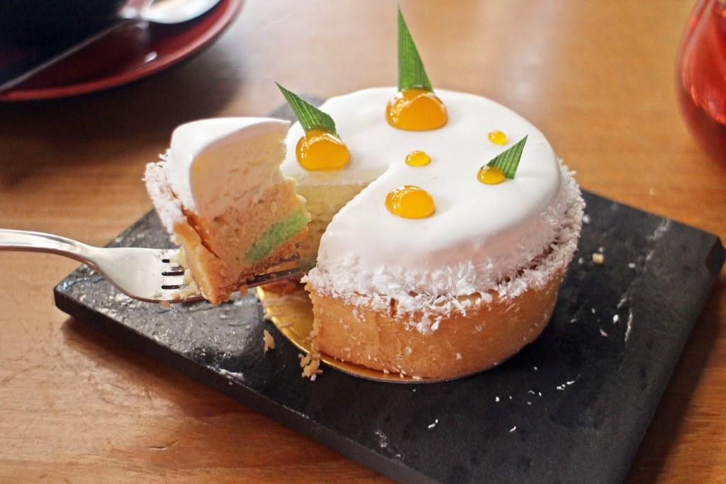 LeQua Café around Taman Sutera: cake