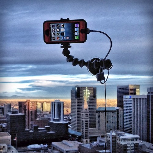 IPhone Rig For Taking Long Exposures From Hotel Rooms