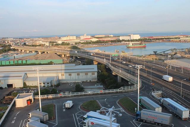 阪神高速湾岸線泉大津PAとホテルきららリゾート関空 (7)