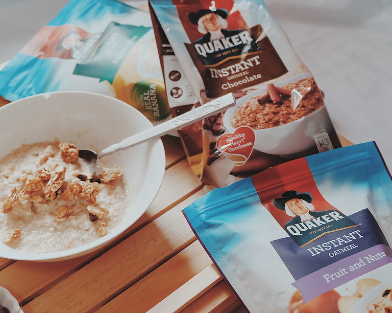 Blogger's Breakfast Starting My Day Right with Quaker