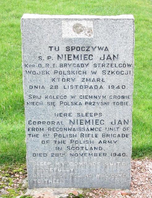 Polish War Grave, Ceres