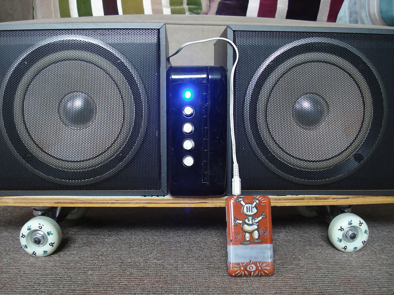 Boombox with J-Pod