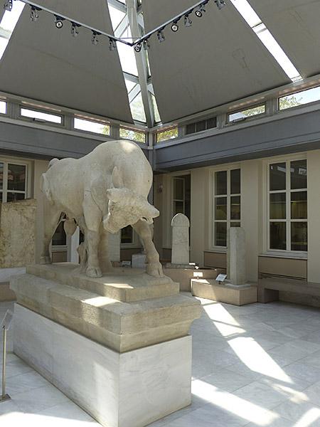 le taureau du Céramique