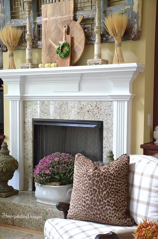 Great Room - Soft Surroundings French Country Fall Home Tour - Housepitality Designs