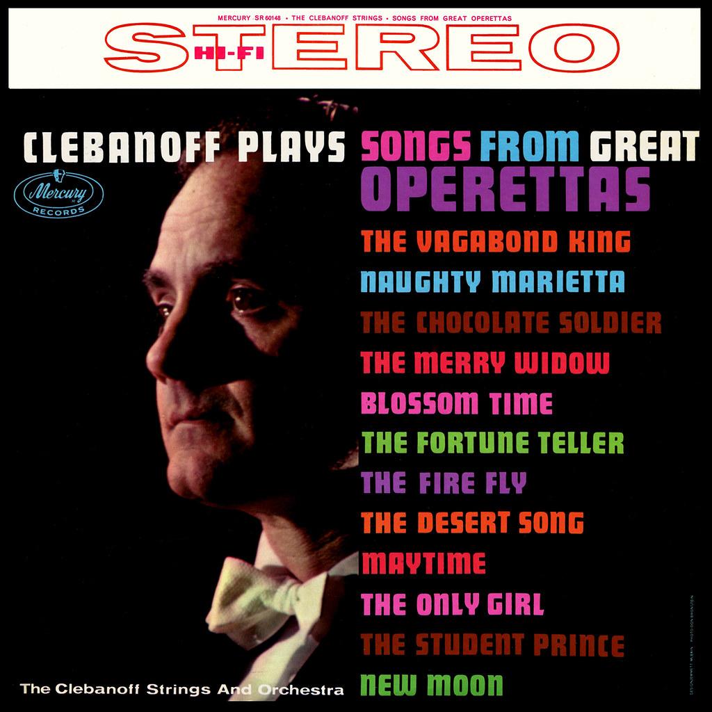 Herman Clebanoff - Clebanoff Plays Songs From Great Operettas