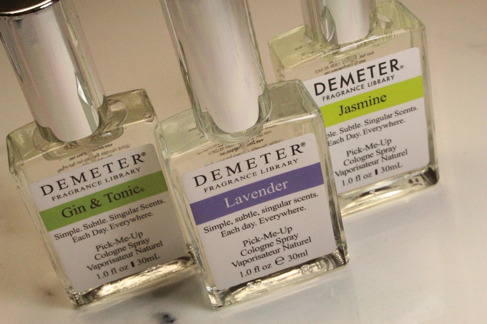 Demeter Fragrance Library Foolproof Blending Trio
