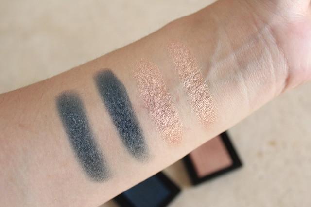 Review and swatch of NARS Dual Intensity Eyeshadow in Rigel and Arcturus