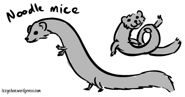 noodle mice