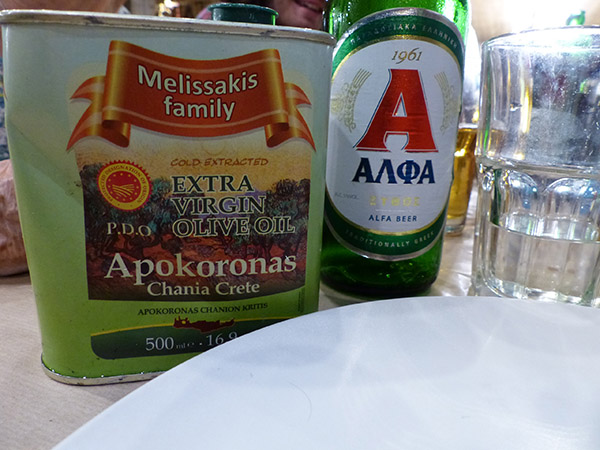 alpha et huile d'olive