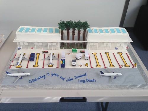 Long Beachs cake for JetBlues 13th birthday  JetBlue Airways ...