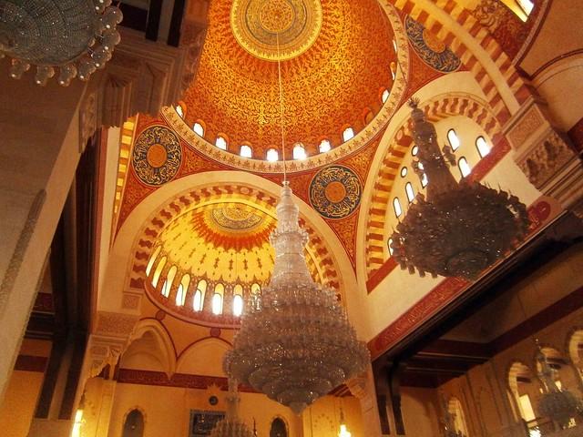 Inside Mohammad Al Amin Mosque