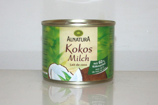 07 - Zutat Kokosmilch / Ingredient coconut milk