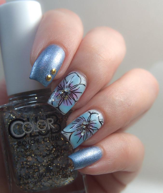 Pueen Skittlette Nail Art