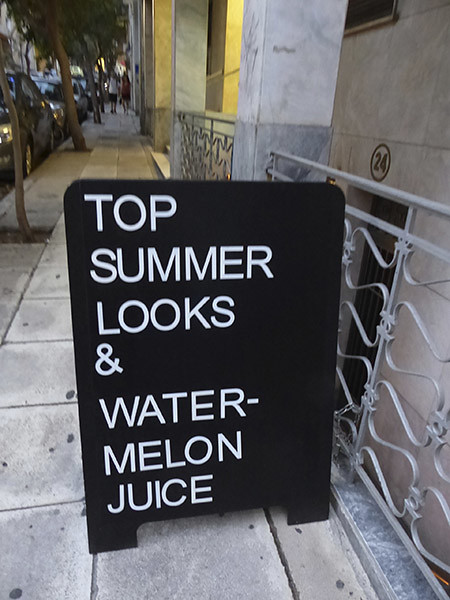 top summer looks and watermelon juice