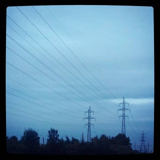 Power lines, for #365days project, 223/365