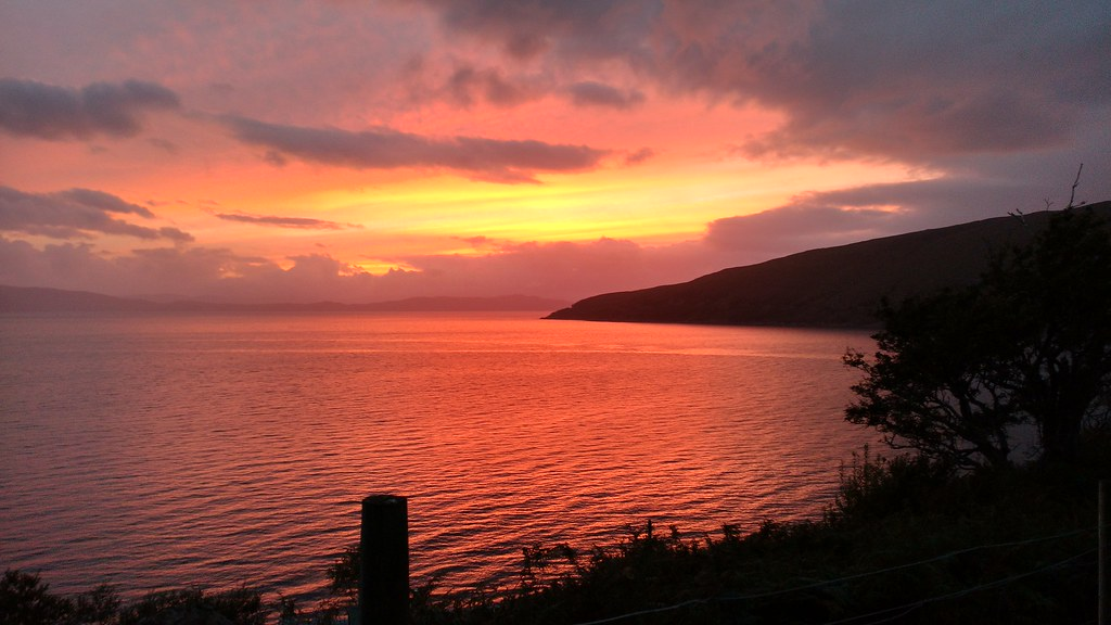 Sunset at Applecross