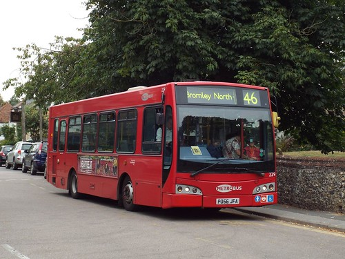 Two days left - Go-Ahead London (Metrobus) 229, PO56JFA at Downe Church on route 146 to Bromley North