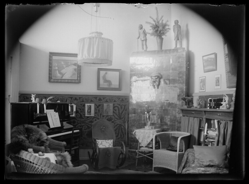 Hugo Simberg's Home, 1913