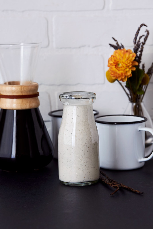 How-to Make French Vanilla Coffee Creamer