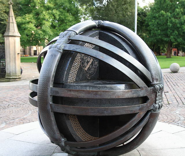 The Woven Globe Sculpture