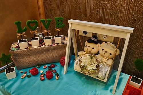 姊姊的婚禮好幸福‧推薦高雄尊龍大飯店的婚宴企畫團隊 (6)