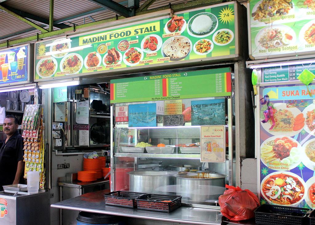 madini food stall woodlands