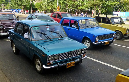 Lada 2106, Lada 2101 - La Habana, Cuba