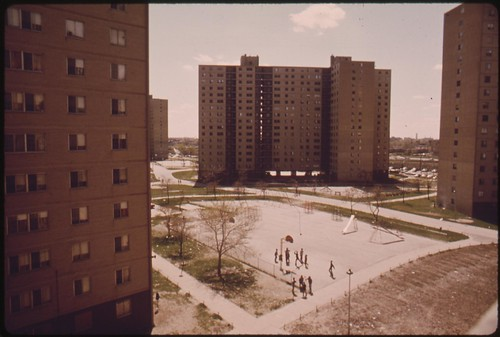 Stateway Gardens Highrise Housing Project On Chicago S Sou