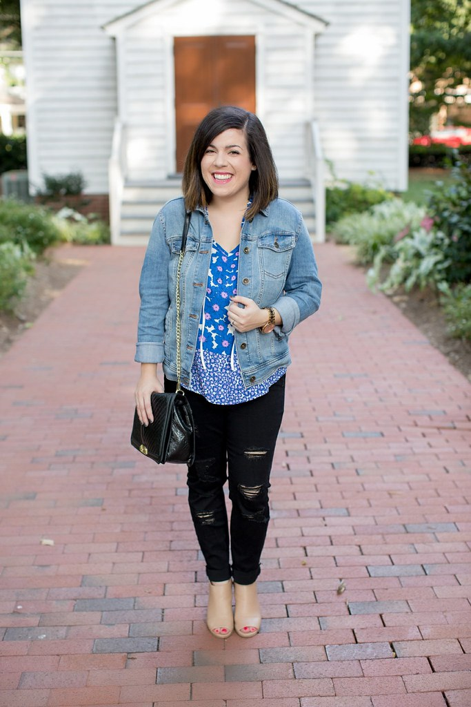 Head to Toe Chic-denim jacket-@akeeleywhite