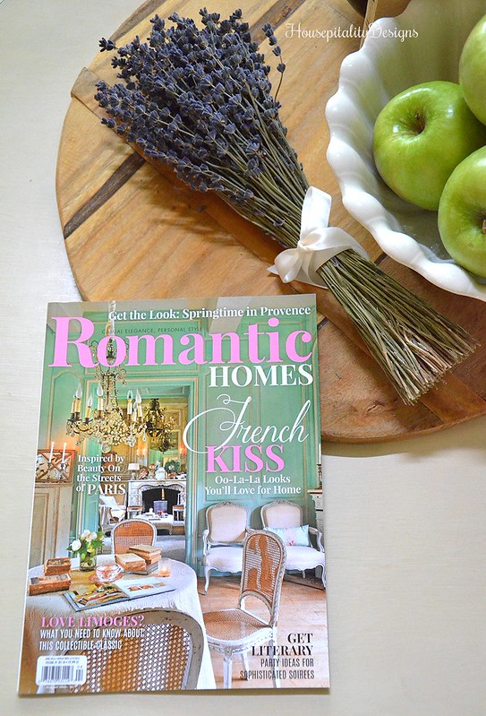 Romantic Homes Magazine - Housepitality Designs