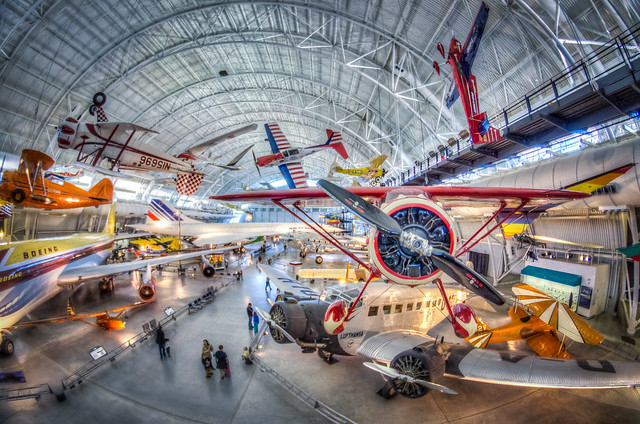 HDR - National Air and Space Museum - Udvar Hazy Center