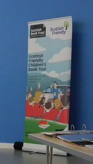 Scottish Friendly book tour banner