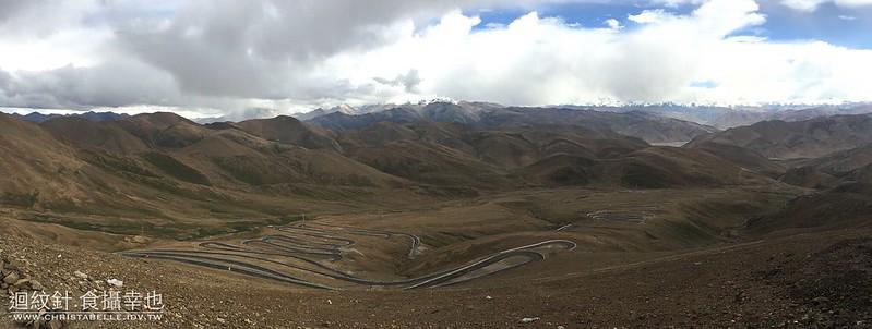 西藏珠峰路上