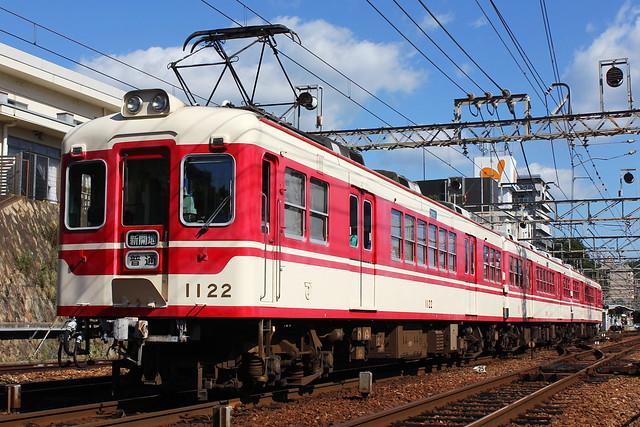 2016/08/31 神鉄1100系1121F