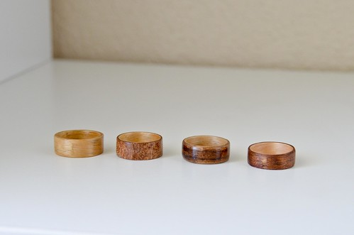 External joins of bentwood rings - improving!