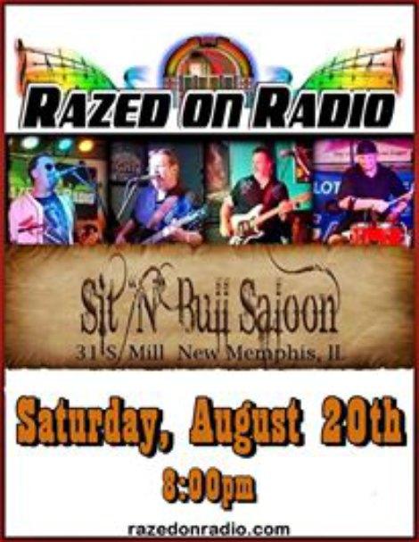 Razed On Radio 8-20-16